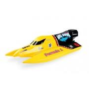 Łódź wyścigowa RC Mad Shark 2 RTR żółta