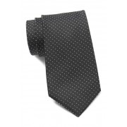 Kenneth Cole Reaction Veloutine Dot Tie BLACK