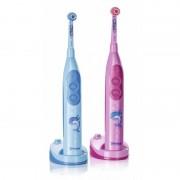 Periuta de dinti electrica Trisa Pro Clean Impulse Kid, 8000 vibratii/min, roz