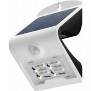 Goobay Lampada LED Solare a Muro 2W IP65 Sensore di Movimento Bianco