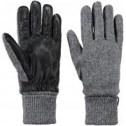 Barts Handschuhe Bhric Grau - Grau Größe L