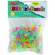 Charles Leonard Inc Beads - Tri - Translucent - 1000/Bag (59040)