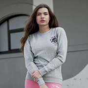 GymBeam Ženska Duksa The Best Version Grey S