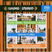 Fritz Reiner - Living Stereo : Respighi: Pines of Rome, Fountains of Rome / Debussy: La Mer - Preis vom 02.04.2020 04:56:21 h