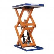 Kompakt-Hubtisch, stationär Tragfähigkeit 1500 kg Plattform LxB 1500 x 1000 mm, Bauhöhe 210 mm