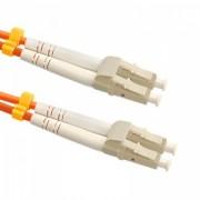 Qoltec Optic Patchcord LC-LC - Multimode - 50/125U - OM2 - Duplex - 2m