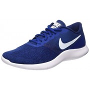 Nike Men's Flex Contact Blue Running Shoes (908983-400) (UK-7 (US-8))