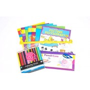 Bootiful Bundles Education Activity Bundle (For Ages 3-5), Starting School, New to Numbers, Letters, Dictionary,