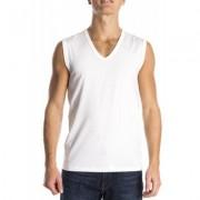 Mey Sleeveless Shirt Organic White ( 48737)