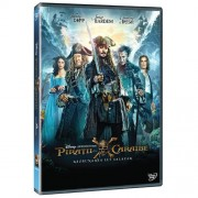 Pirates of the Caribbean: Dead Men Tell No Tales:Johnny Depp, Orlando Bloom - Piratii din Caraibe:Razbunarea lui Salazar (DVD)