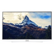 "LG 43UH664V, 43"" 4K UltraHD TV, 3840x2160, DVB-T2/C/S2, 1200PMI, Smart, ULTRA Slim, WiDi, WiFi 802.11.ac, Bluetooth, Miracast, DLNA, LAN, CI, HDMI, USB, TV Recording Ready, Crescent Stand, Metallic/White"