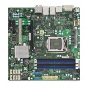 Supermicro X11SAE-M Intel C236 LGA 1151 (Socket H4) microATX server/workstation motherboard