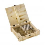 Zwilling Steakbesteck-Set 12-teilig, mit Holzbox