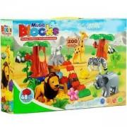 Конструктор Зоологическа градина - 48 части, 504112270