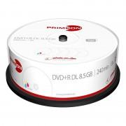 Primeon DVD+R Double Layer 8.5GB 8x photo-on-disc printable 25er Cake