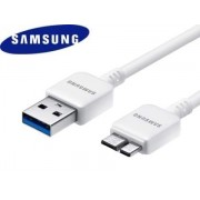 Genuine Samsung Micro USB V3.0 Data Cable - Samsung Cable & Adapter (Pearl White)