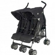 Dečija kolica za blizance Maclaren Twin Techno black