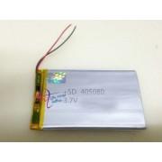 405080 - Acumulator Li-Polymer - 3,7 V - 2500mah - 80x50x5 mm