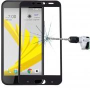 Para HTC 10 Evo 0.3mm 9h Dureza Superficial (pantalla De Seda De Vidrio Templado Curvo De Plena Pantalla Protector De Pantalla (negro)