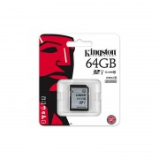 Card Kingston SDXC 64GB Clasa 10 UHS-I 45MB/s
