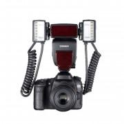 Yongnuo Yn24 Ex - Flash Doppio Ttl - Canon - 2 Anni Di Garanzia In Italia
