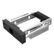 Aluminium 3.5 inch SATA HDD Mobiele Frame met Led licht Rack ondersteuning 6 TB capaciteit