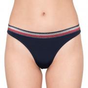 Tommy Hilfiger Dámské kalhotky Tommy Hilfiger tmavě modré (UW0UW01041 416) S