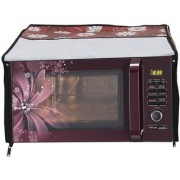 Lithara Beautiful Multi color Designed Printed Microwave Oven Cover for IFB 23BC4 23 Litre