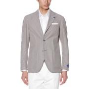 【30%OFF】Model-267 ジオメトリック テーラードジャケット グレージュ 48 ファッション > メンズウエア~~ジャケット