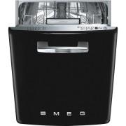 SMEG ST2FABBL2 kezelőszervig beépíthető retro mosogatógép - fekete