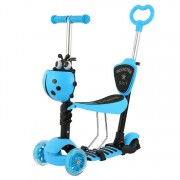 Trotineta 5 in 1 ride and skate blue
