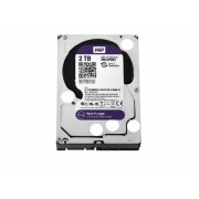 "WESTERN DIGITAL WD 2TB SATA III, 64MB, 3.5"", 5400RPM, PURPLE - WD20PURZ INTERNI, 3.5"", SATA III, 2TB HDD"