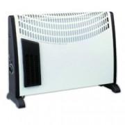 Конвектор Sapir SP 1974 A, 3 степени, вентилатор, предпазител, 2000W, бял