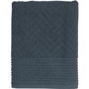 Mette Ditmer Brick Handduk 50x95 Midnight blue