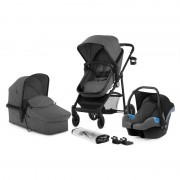 Kinderkraft set 3u1 kolica JULI grey