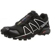 Salomon Men s Speedcross 4 Gtx Trail Runner Black/Black/Silver Metallic-X 11 D(M) US