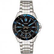 Casio Enticer Analog Black Dial Mens Watch - MTD-1066D-1AVDF (A502)