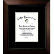"Campus Images ""Certificate Frame with Legacy Black/Black and Gold Mats, 8"" x 10"