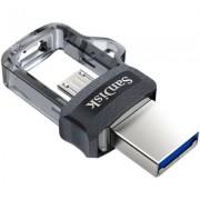 SanDisk Pendrive SDDD3-256G-G46 Ultra Dual Drive 256GB Szaro-Czarny