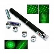 Laser Verde 2000mW MRG 5 Capete Proiectie ,Metalic