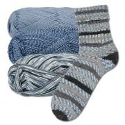 Junghans-Wolle 3 x 100 g Freizeit von Junghans-Wolle im Sparpaket, Regenwolke