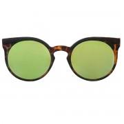 Occhiali da sole dhomy sinergy tortoise e mirror green b00265