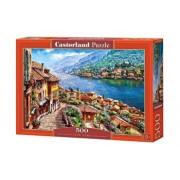 Puzzle Lacul Como, 500 piese