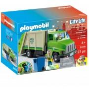 Camion De Reciclaje Playmobil Recolector De Basura - 5679