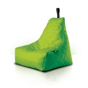 Extreme Lounging B-Bag zitzak Quilted lime groen