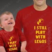 T-shirts Play With Legos - Bebé