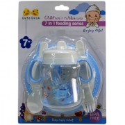 6th Dimensions 7 In 1 Feeding Series For Baby (Multi-Color)