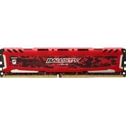 Ballistix Sport LT 8GB DDR4 2400 MT/s (PC4-19200) DR x8 DIMM 288-Pin - BLS8G4D240FSE (Rosso)
