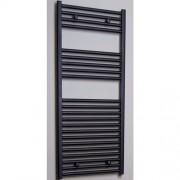 Designradiator Recht Sanicare 111.8x45cm 596 Watt Antraciet Zijaansluiting