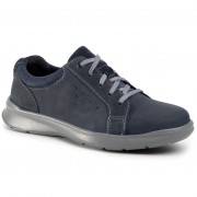 Обувки CLARKS - Cotrell Stride 261453057 Navy Leather